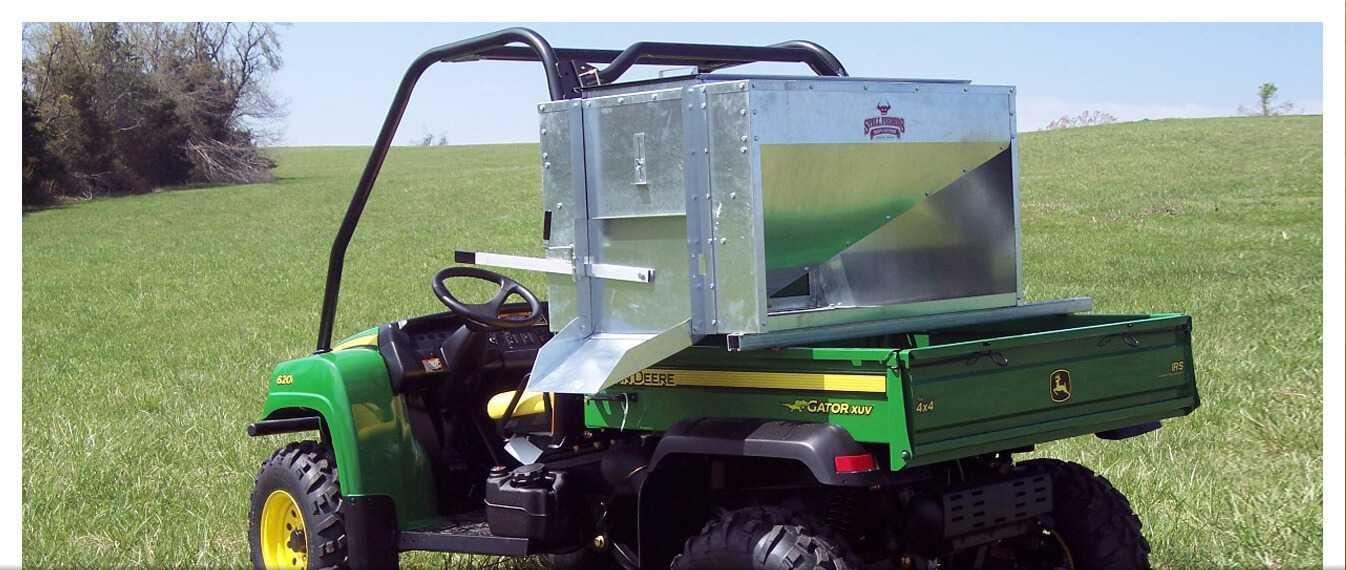 ATV and UTV Portable Cattle Feeders - Stull Feeders