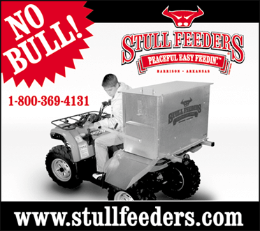 ATV and UTV Portable Cattle Feeders - Stull Feeders